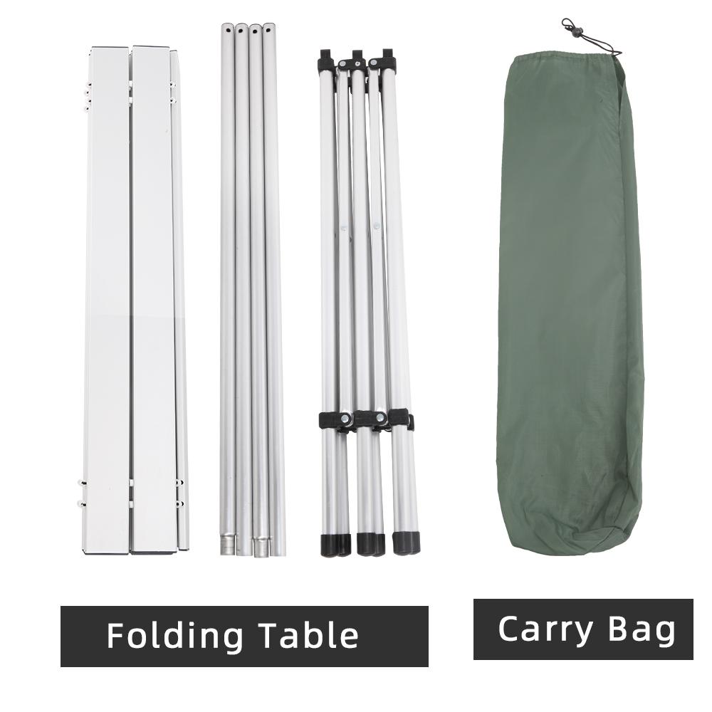 140 * 70 * 70cm Rectangular Camping Table