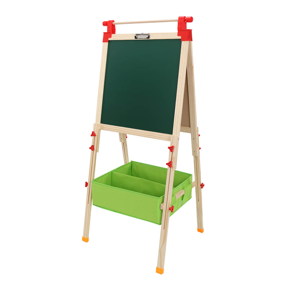 HB-D126S Top Shaft With Non-Woven Storage For Children's Liftable Easel
